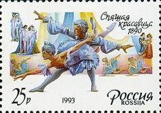 Почтовые марки России 1993 года