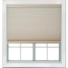 Redi Shade 52.375-In W X 72-In L Natural Light Filtering Cellular Shad