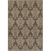 Found it at Wayfair - Couristan Dolce Brown/Beige Veneto Rug