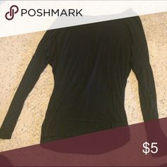 Black long sleeve I loved wearing this on comfy days! Tops Tees - Long Sleeve