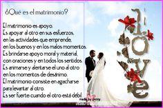 Que es el Matrimonio?