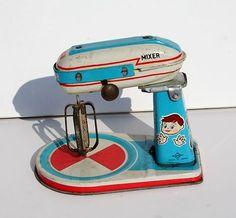 Vintage Daiya Tin Toy Mixer