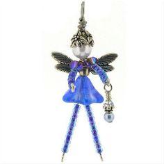 Fairy Jewelry, Beaded Jewelry, Handmade Jewelry, Beaded Crafts, Beaded Ornaments, Beaded Angels, Beads Pictures, Beads Online, Bead Kits