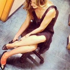 Elisabetta Pellini wearing #greymershoes #instagood #instafashion #photooftheday #fashion #newcollection #SS14 #decollete #heels #beautiful #girl #shoes #loveshoes #loveshopping www.greymer.it