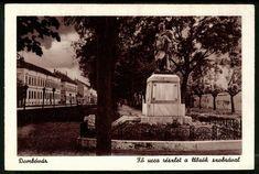 Dombovár, Dombóvár Fő utca részlet a hősök szobvár...   Képcsarnok   Hungaricana