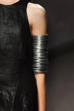 Arm full of bangles. Peachoo Krejberg Spring 2014