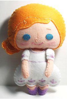 Felt Doll | Doll Pattern