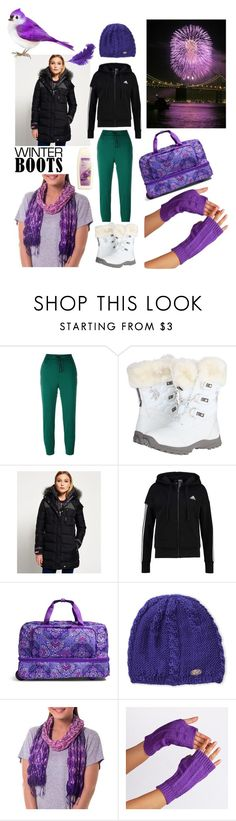 """My mood today #156"" by serjenblair ❤ liked on Polyvore featuring Golden Goose, U.S. Polo Assn., Superdry, adidas, Vera Bradley, Turtle Fur, NOVICA, Avon and winterboots"