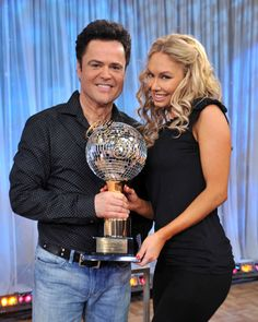 Dancing With The Stars: Past Winners  Season 9 winners: Donny Osmond and Kym Johnson