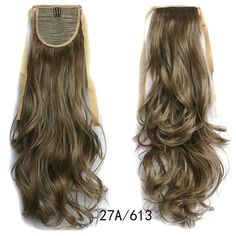 Ponytail Hair Extension Piece Wavy Tie On Long Sexy Synthetic Best Quality Ponytail Hair Piece, Wavy Ponytail, Ponytail Hair Extensions, Ombre Hair Extensions, Ponytail Hairstyles, Human Hair Extensions, Drawstring Ponytail, Short Bob Wigs, Queen Hair