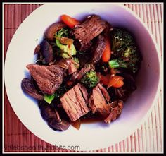 Clean Eating Crock Pot Beef and Broccoli