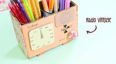 #RetoCrafty Radio Vintage: calendario perpetuo con lapicero