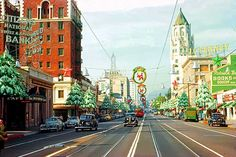 vintage everyday: Beautiful California in the 1940s-50s