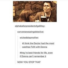 Okay, Donna in the later episodes. I kinda hate early Donna. Space Man, Rose And The Doctor, Donna Noble, Don't Blink, Eleventh Doctor, David Tennant, Dr Who, Superwholock, Tardis