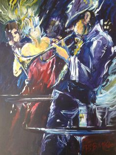 """The Blues limited Edition 16""""x12"""" 1/45"""