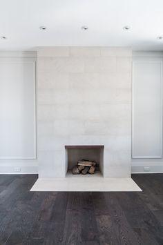 Fireplace - Whole Home Renovation, Regal Heights | whitehallhomes.ca