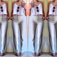 Philippe Adec wool pants Super chic wool pants by Philippe Adec. Wear them long or cuff them for a trendy look. Great for work or play! Philippe Adec Pants Trousers