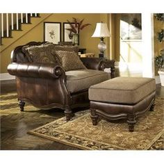 oversized chairs and ottomans - Google Search