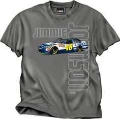 Jimmie Johnson CFS NASCAR Collection Lowes Poster Tee by RacingGifts. $26.00. These top quality licensed shirts are constructed of a cotton/synth blend that is made for comfort and durability. Made with bright, vibrant color graphics in a patented process that's made to last for years...wash after wash. An ideal gift idea for any nascar fan....order one for yourself and a friend!
