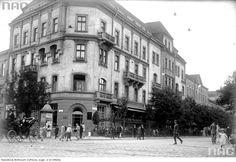 ul.Dunajewskiego 1926r Informacje ty http://www.dawnotemuwkrakowie.pl/miniatury/42-ul-dunajewskiego-widoczna-kawiarnia-bisanza/