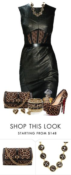 """""""Christian Louboutin Bags"""" by sil-engler ❤ liked on Polyvore featuring Jason Wu, Christian Louboutin, River Island, Betsey Johnson, Kate Spade and Guerlain"""
