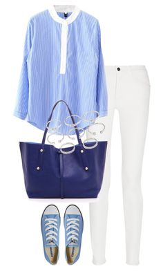 """""""Untitled #1812"""" by officialnat ❤ liked on Polyvore featuring Proenza Schouler, Converse, Annabel Ingall and Forever 21"""