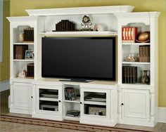 Amazon.com: Entertainment Center TV Stand Wall Unit Alpine PHPAL-100-4X by Parker House: Kitchen & Dining
