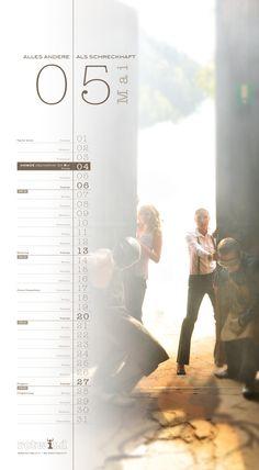 Rotwild Kalender Mai 2012