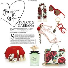 roses are red by kimberlybeasleysoprano on Polyvore featuring polyvore fashion style Dolce&Gabbana