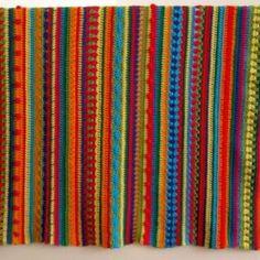 Ravelry: Baby Blanket Crochet Along pattern by Cara Carina Manta Crochet, Crochet Baby, Knit Crochet, Crochet Afghans, Crochet Designs, Crochet Patterns, Crotchet Blanket, Crochet Bedspread, Ravelry