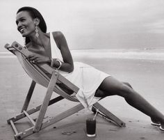 """""""How does a beautiful woman like you end up on a beautiful beach like this all alone?"""""""