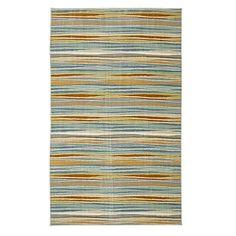 Mohawk Home Confetti Stripes Nylon 5'x8' Cream Rug (086093491604)