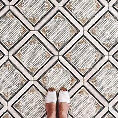 Love at first step. Via- @ihavethisthingwithfloors - - #flooring #floordesign #floortile #flooringinspo #floorinspiration #interiordesign…