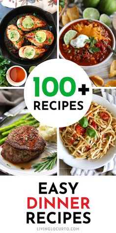 Easy dinner recipes for a weeknight meal, a party or family gatherings. Low carb healthy meals, simple pasta, chicken, beef, pork, fish, casseroles, air fryer and Instant Pot recipes. You're sure to find the perfect meal to try for dinner this week. Easy Dinner Recipes, Pasta Recipes, Great Recipes, Easy Meals, Healthy Recipes, Healthy Meals, Party Food For Adults, Dinner This Week, Weeknight Meals