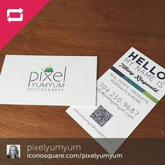 Great looking business cards newlinemassage repost diggin repost pixelyumyum i designed my business cards a colourmoves
