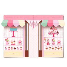 Decora House I Hääkoristeet I Juhlakoristeet I Kattaustarvikkeet Cupcake Shops, Cupcake Party, Cupcake Bakery, Candy Theme, Candy Party, Kids Play Places, Lollipop Birthday, Birthday Party Themes, Diy And Crafts