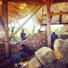 #cob #cordwood #naturalbuilding #house #wicklow #ireland #permaculture #community #instagood #beautiful #carraigdulra Natural Building, Cob, Permaculture, Outdoor Furniture, Outdoor Decor, Adventure Travel, Ireland, Community, Instagram Posts