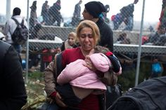 Refugees blocked out of Macedonia