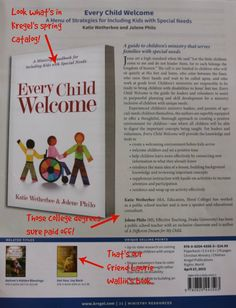 Every Child Welcome, a book for special needs ministry staff & volunteers, releases April 27, 2015. Get the skinny on what's happening behind the scenes.