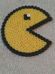 Pac-man hama beads
