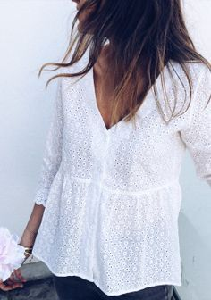 Guy Fashion 56506170314195011 - Blouse Alana blanche Source by maeva_stefan Mode Outfits, Dress Outfits, Fashion Outfits, Womens Fashion, Look Boho, Classy Dress, Mode Inspiration, Look Fashion, Fashion Mode