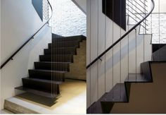 Stairs made from steel plate