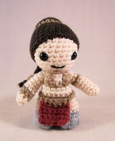*PLEASE NOTE - THIS LISTING IS FOR A CROCHET PATTERN NOT THE FINISHED ARTICLE.*    Use this original pattern to make yourself a miniature Princess
