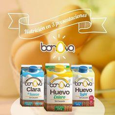 El mismo sabor y beneficios del huevo, pero sin el cascarón. #Bonovo #SaldelCascarón #Huevos #Cocina #Food #Comida #Delicioso