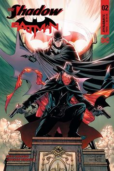 The Shadow/Batman #2 Review: Whiskey And Warfare