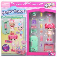 Shopkins Season 3 Happy Places Welcome Pack - Gourmet Kitty Kitchen