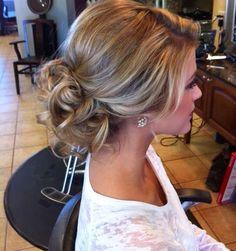 Brides maid hair