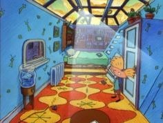 Arnold's awesome bedroom (article)