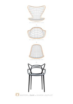 The Masters (Kartell) Chair Bring To Mind The Lines Of 3 Great Masters And  3 Great Masterpieces. Putting Them Altogether They Create A New Product  That ...