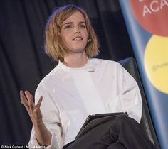 Taking a gap year: Her comments come days after she announced she would be taking a year out from acting to focus on feminist activism and her role as the Global Goodwill Ambassador for United Nations Women